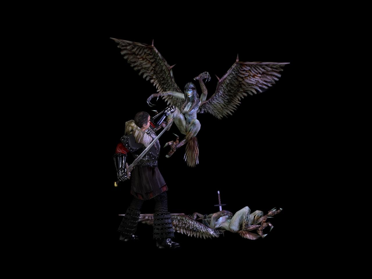 Harpy vs Ore Baron v2