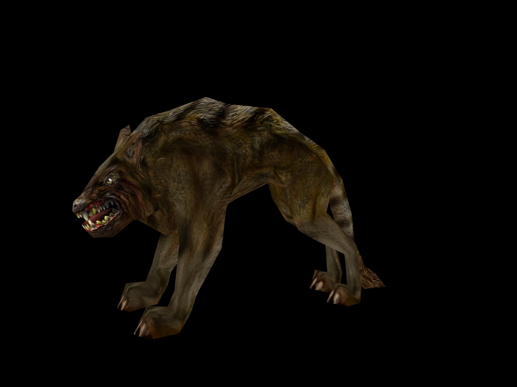 Orc Dog new, former Black Wolf