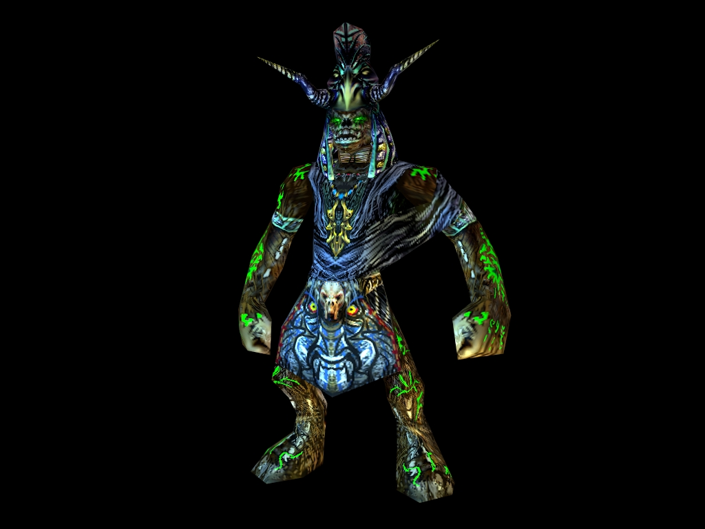Undead Orc Shaman new / High Priest