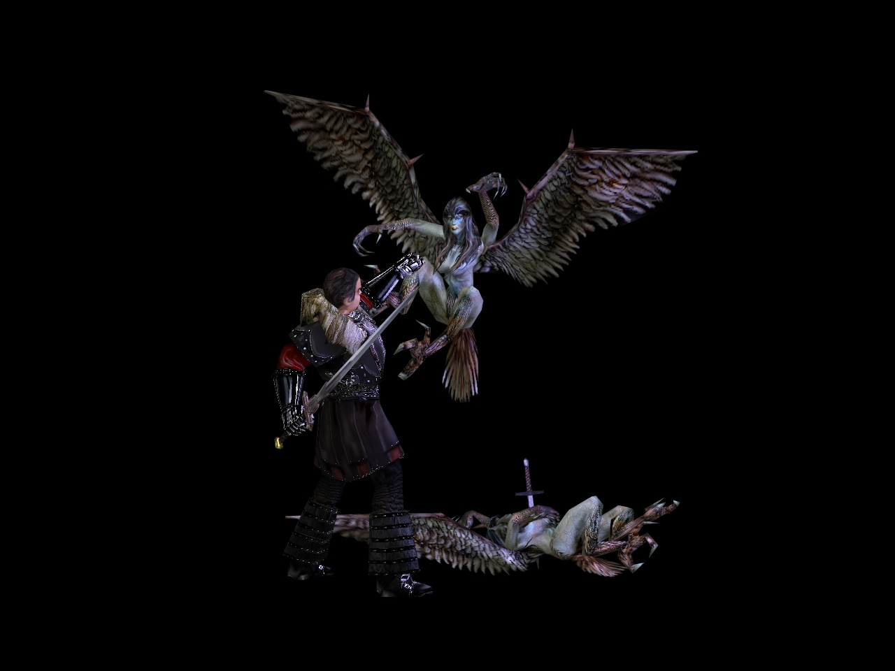 Harpy vs. Orebaron v2