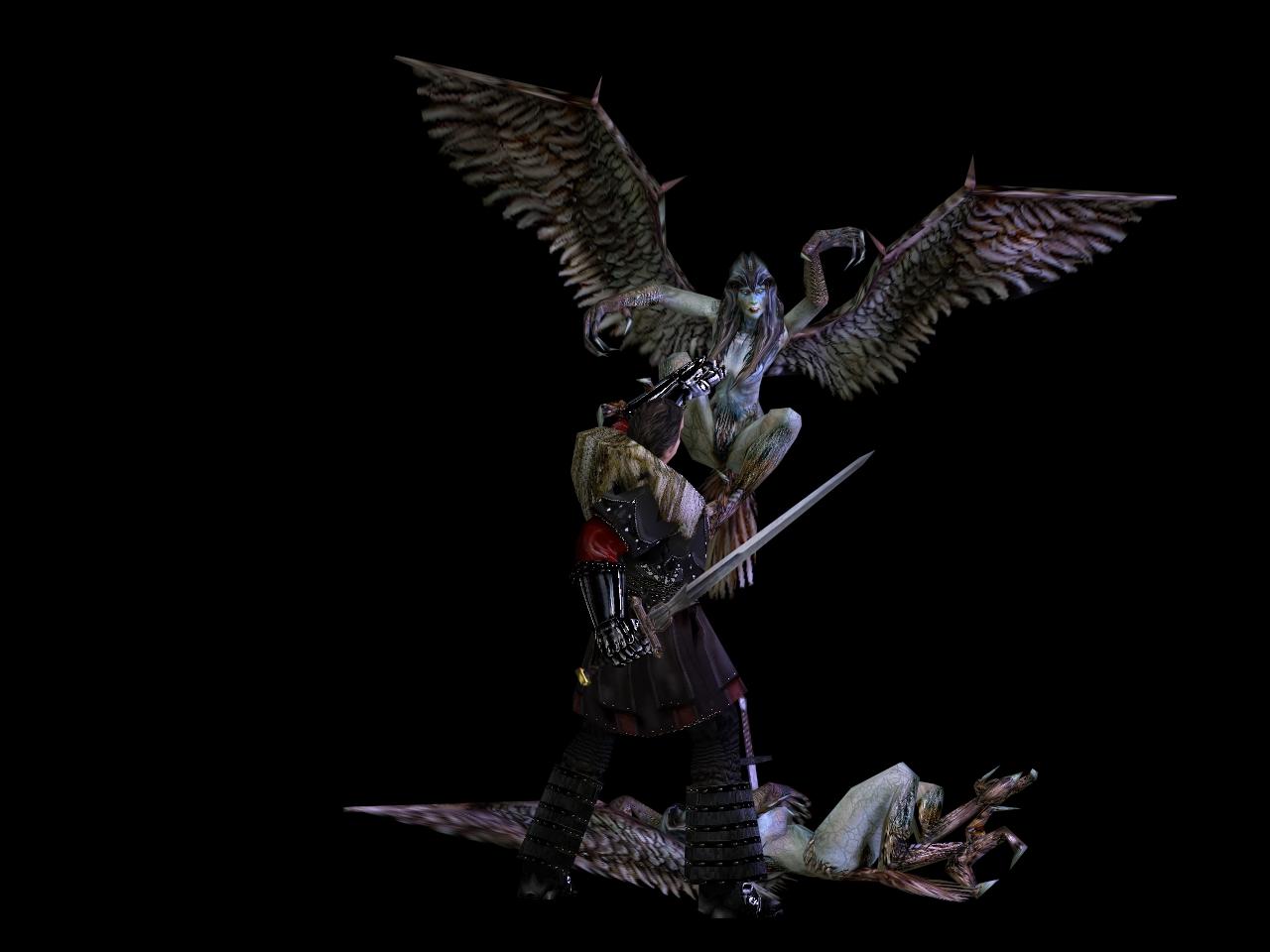 Harpy vs. Orebaron v3