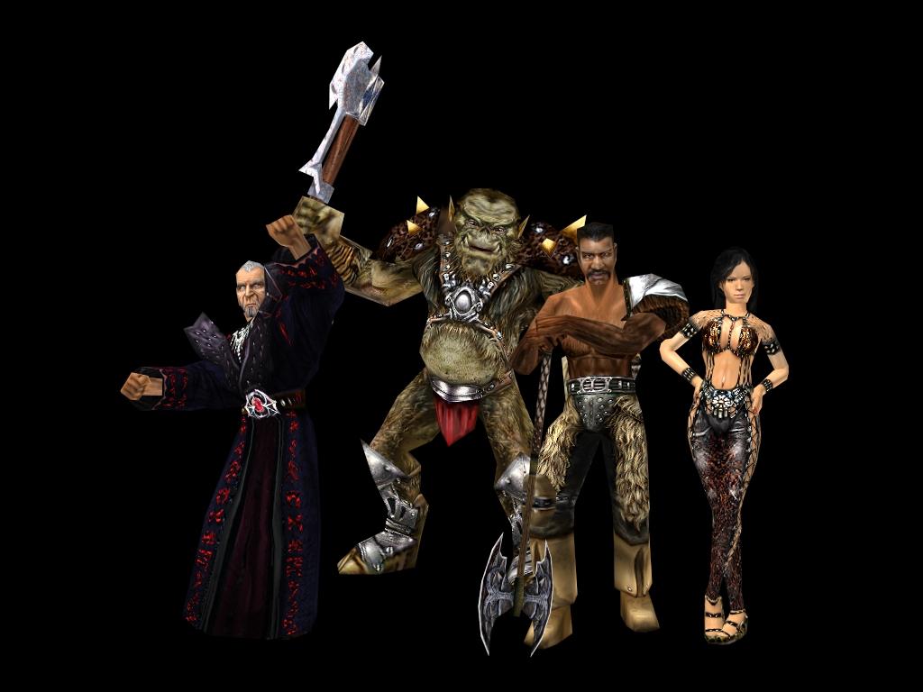 Xardas, Orc Warrior, Gorn, Velaya v2