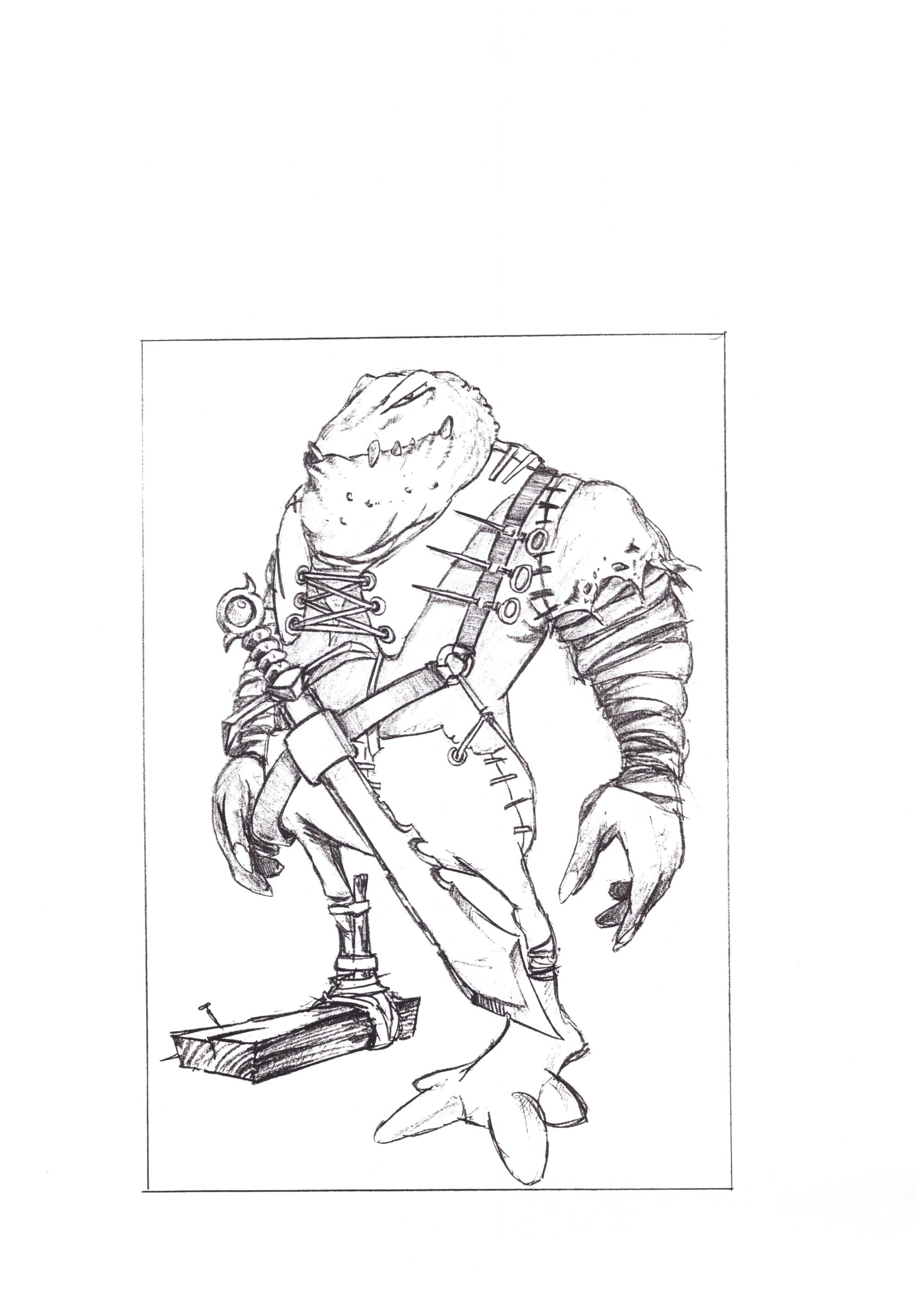 Orc Concept 8