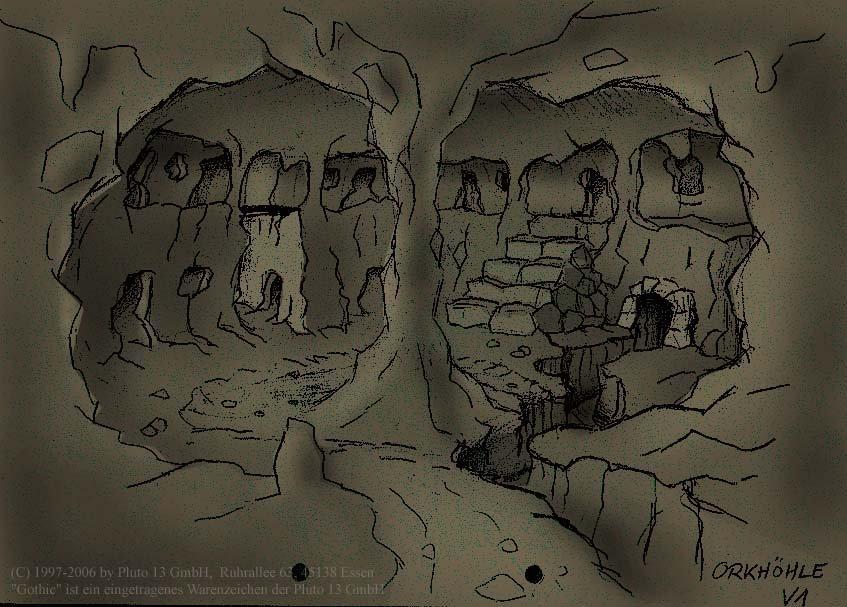 Orc cave colour