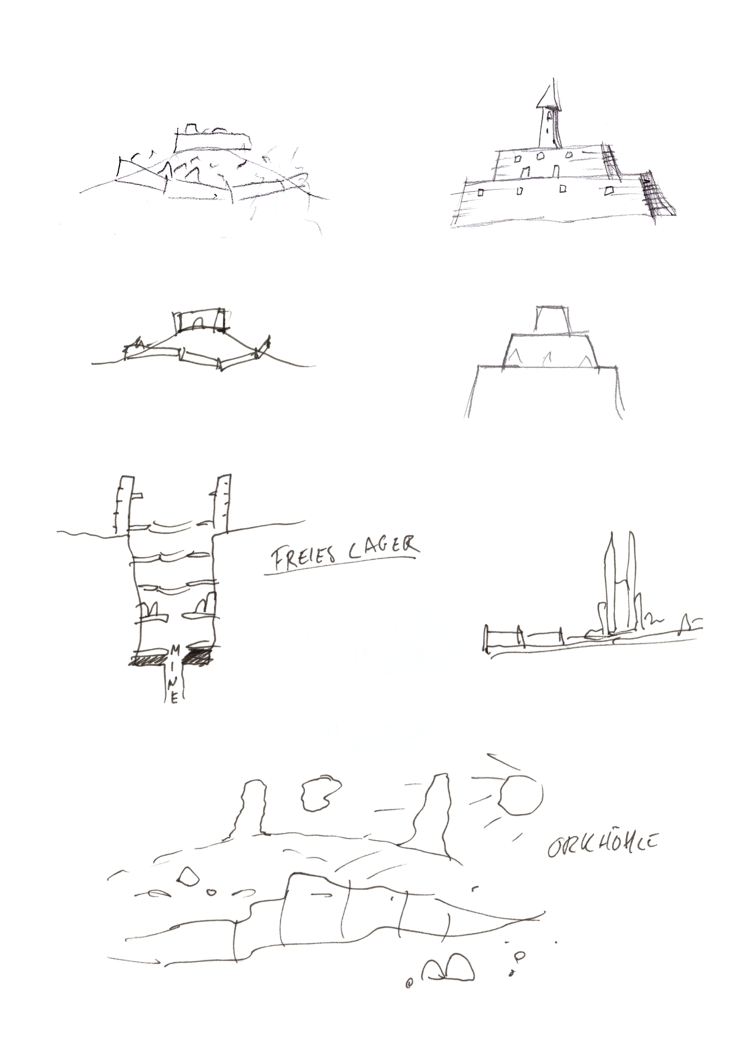 camp scribbles