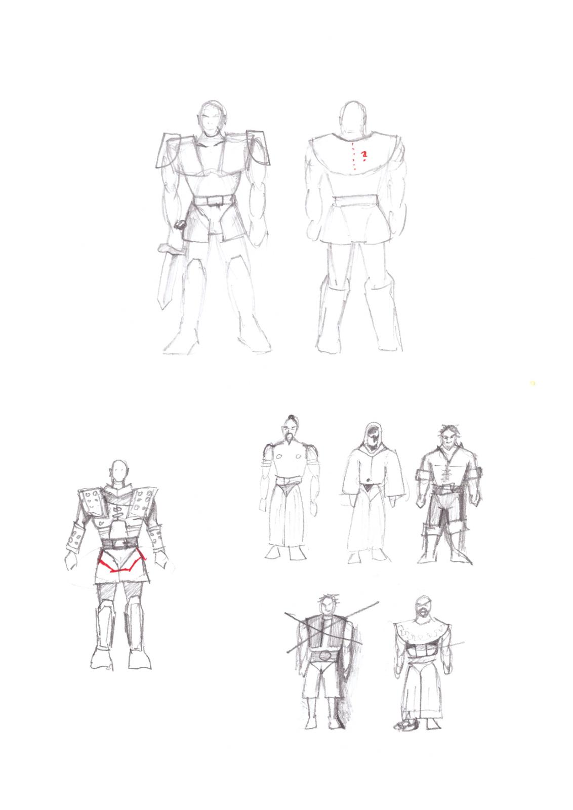 Armor Scribble