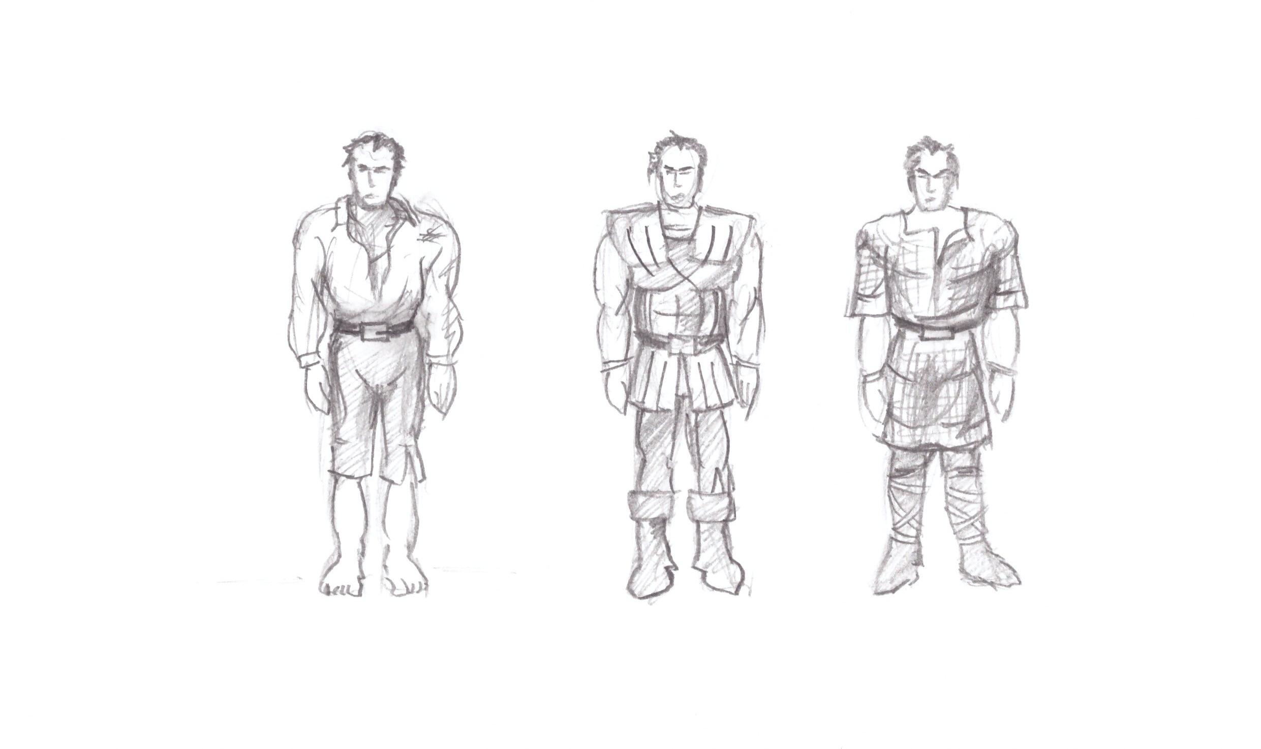 Character Scribble 1