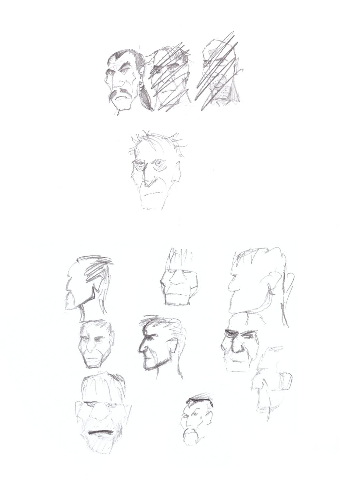 Character Scribble 4