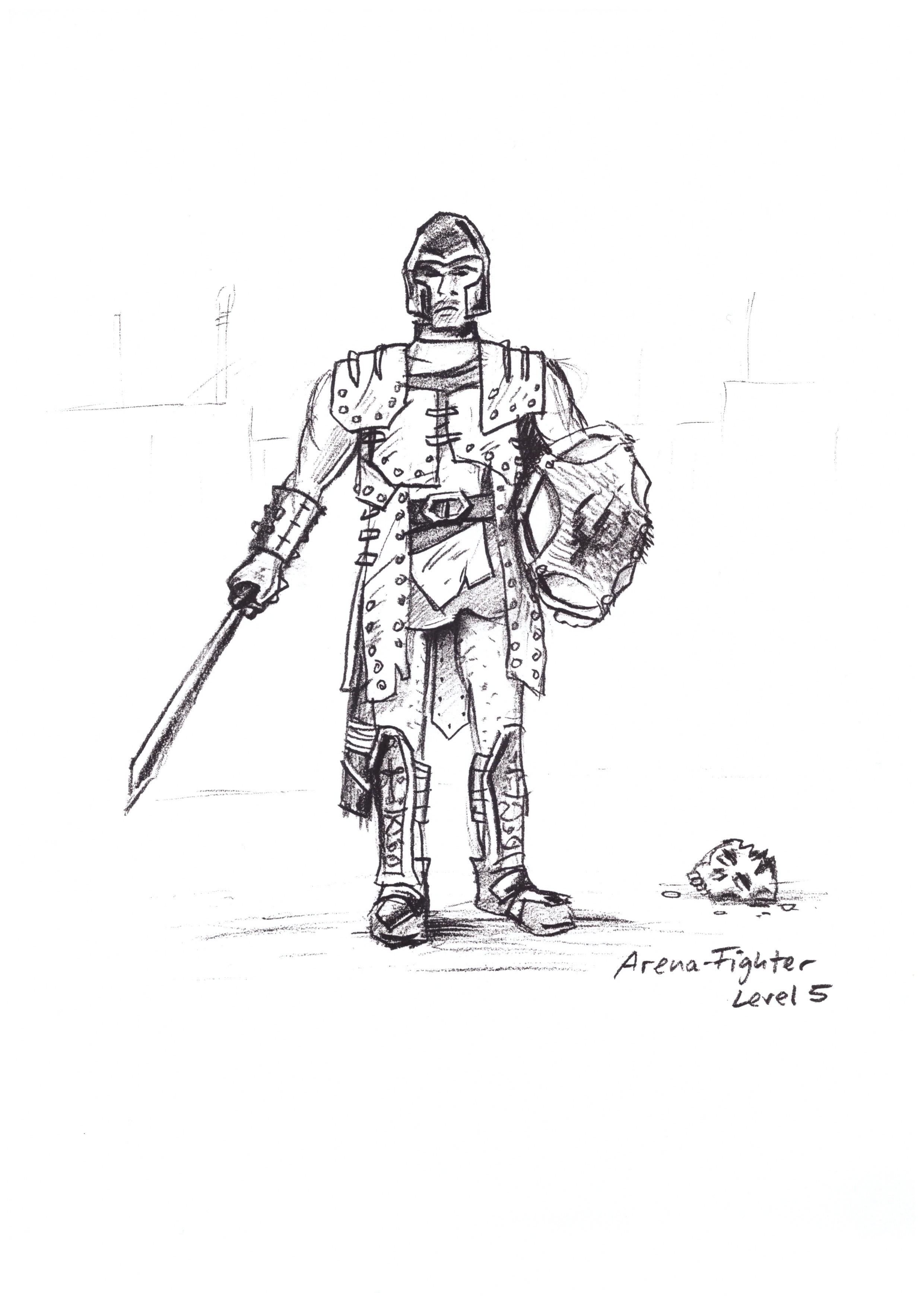 Arenafighter Sketch