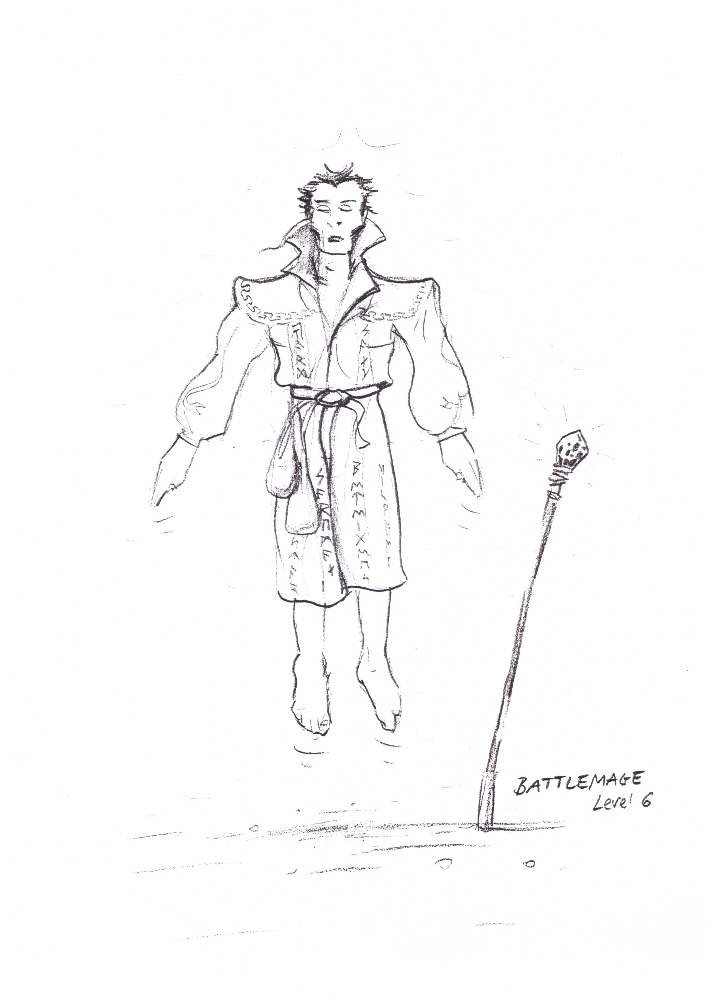 Battlemage Sketch