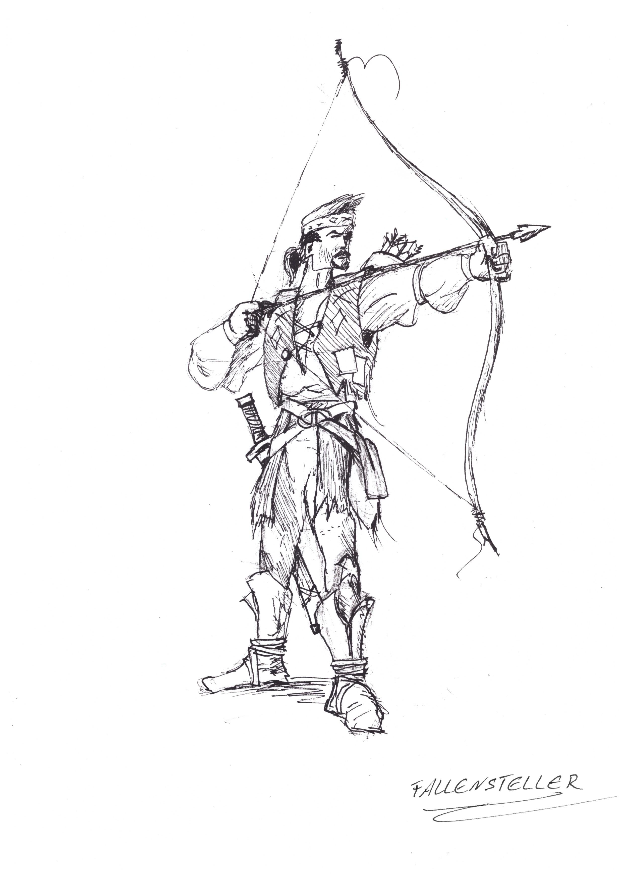 Fallensteller Sketch