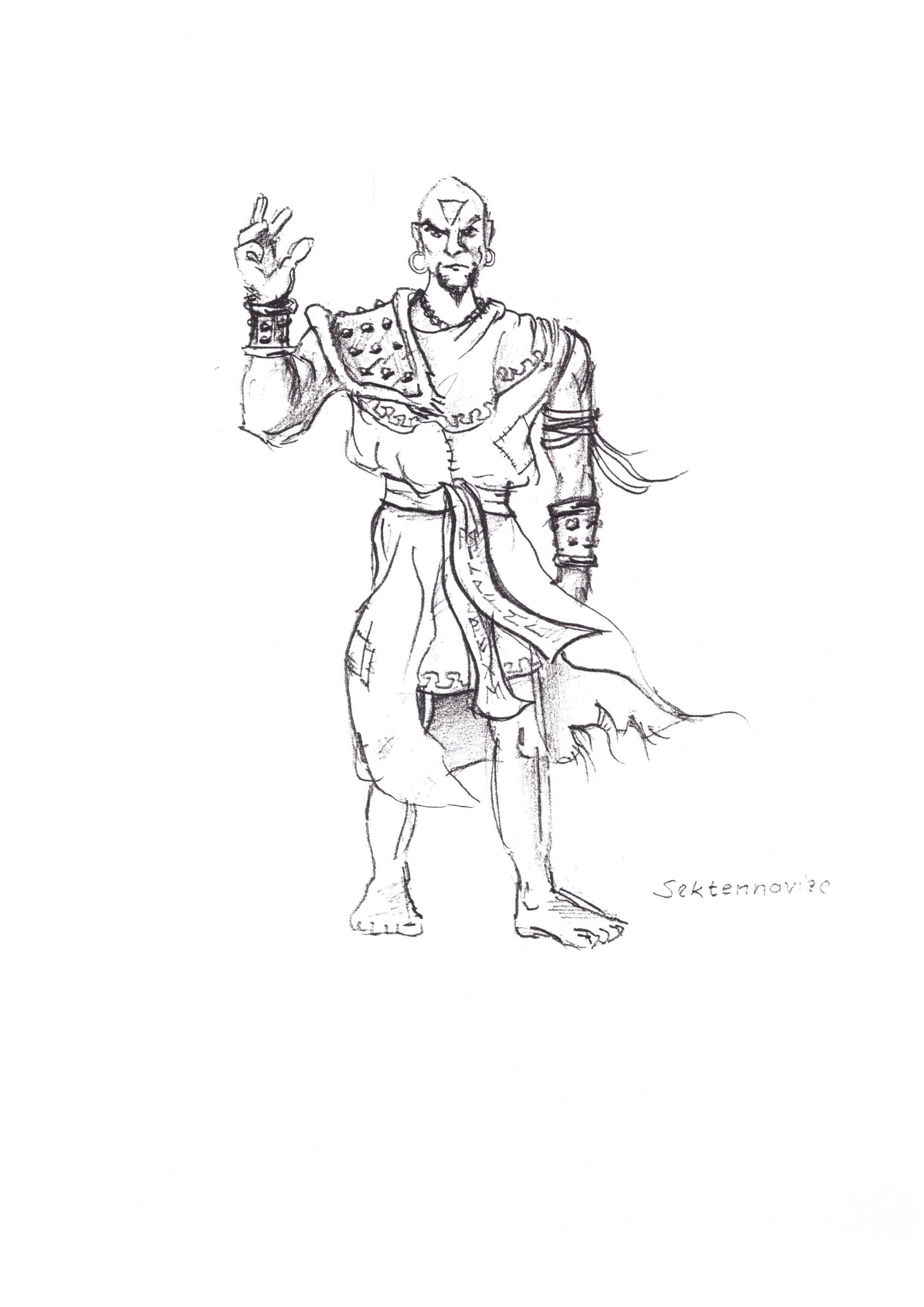 Sect Novice Sketch
