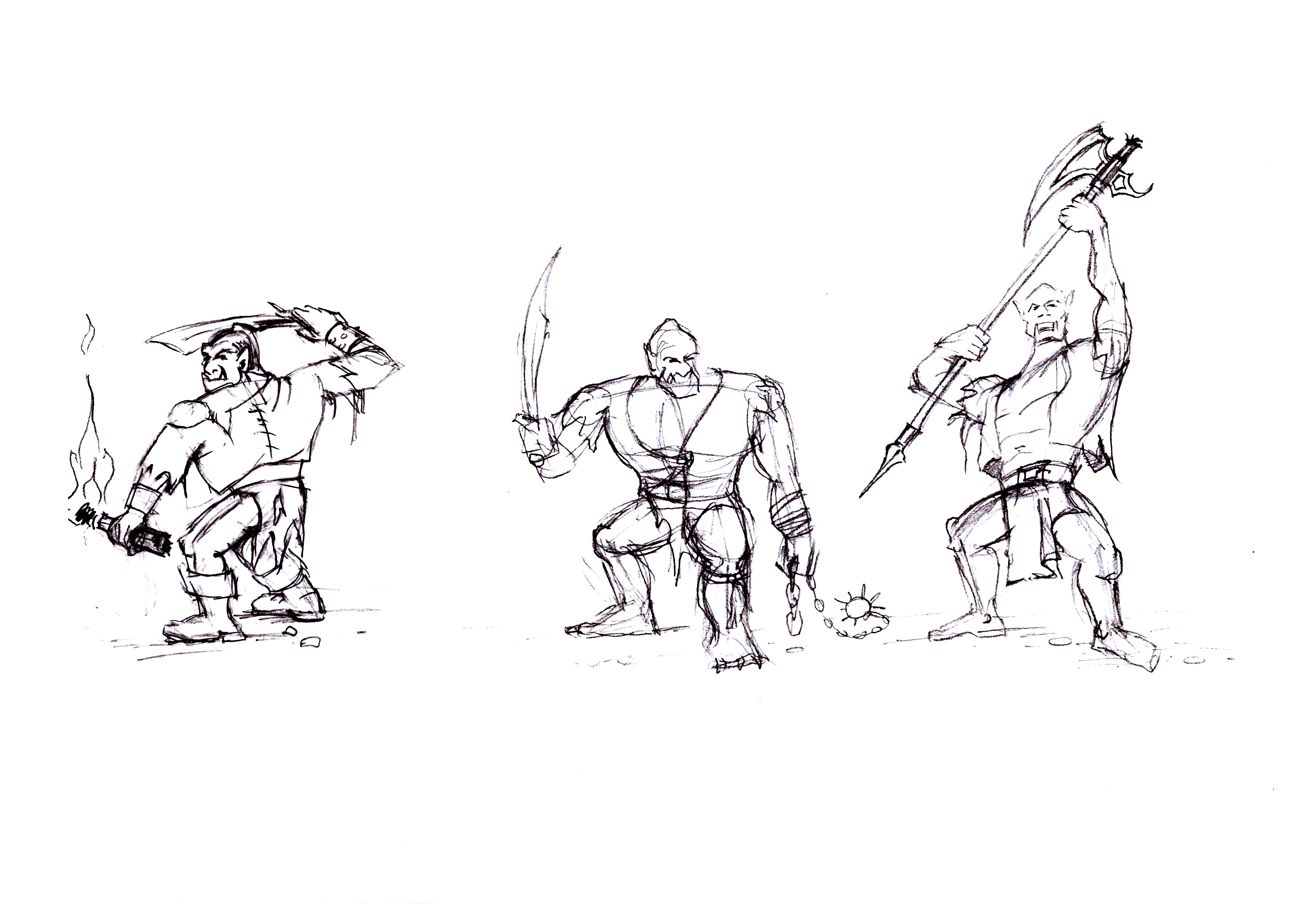 Orc Scribble 3