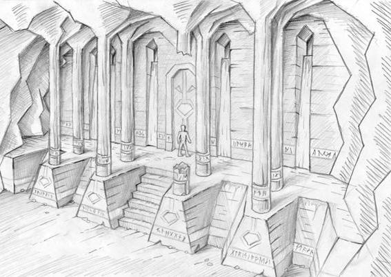 Temple Scribble 2