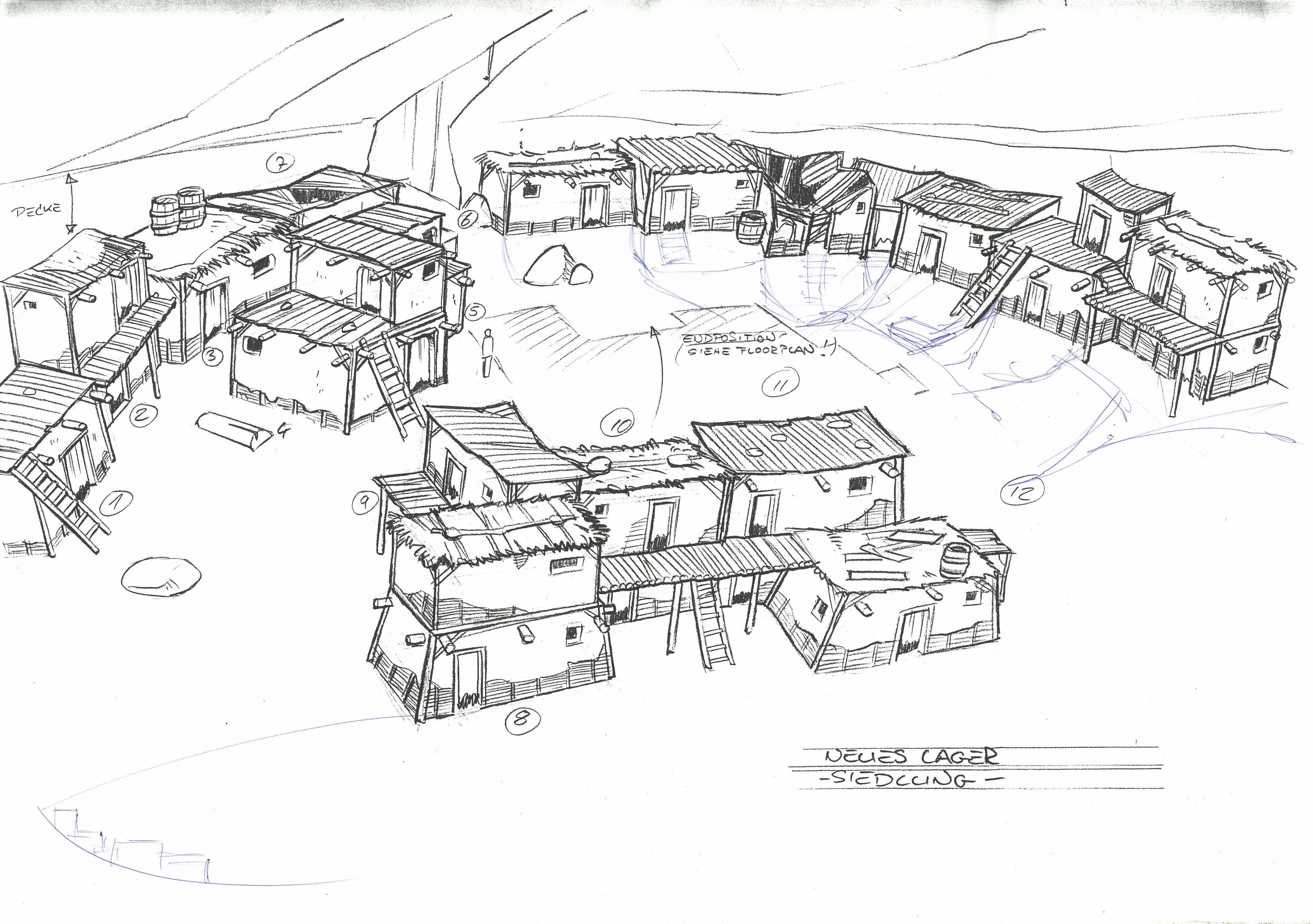 Neues Lager - Siedlung