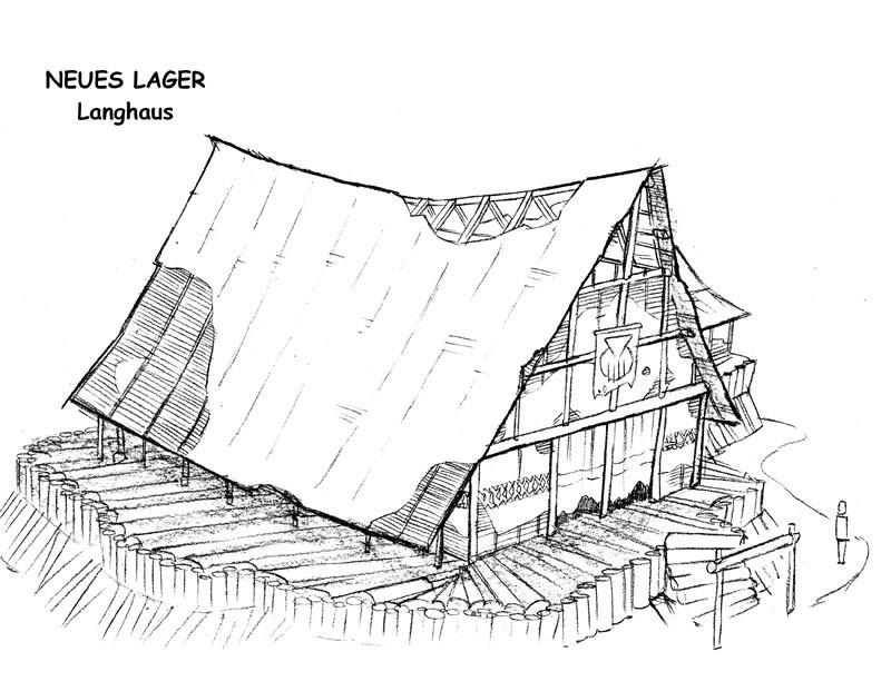 Neues Lager - Langhaus V1
