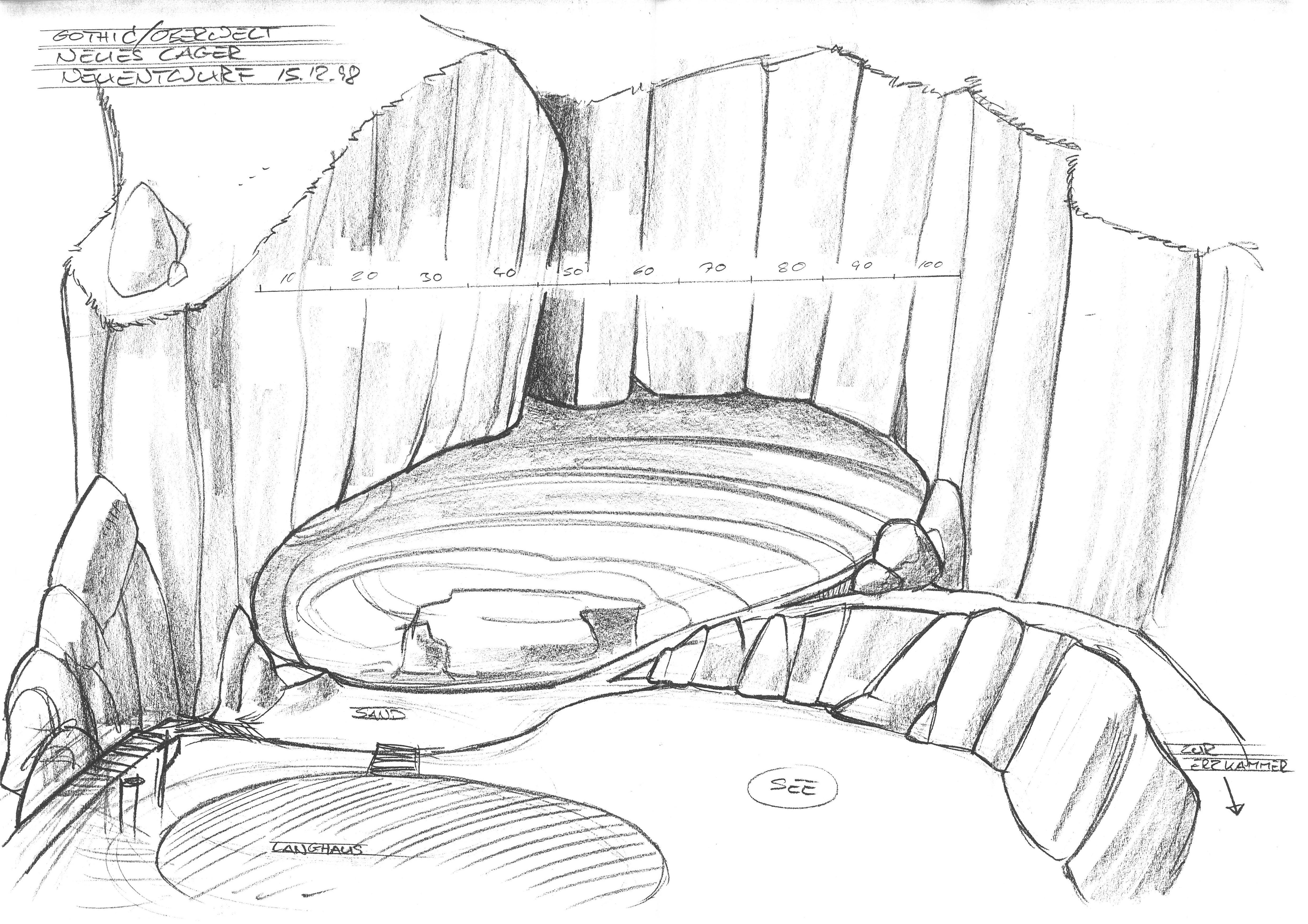Neues Lager - Neuentwurf - Wohnhöhle