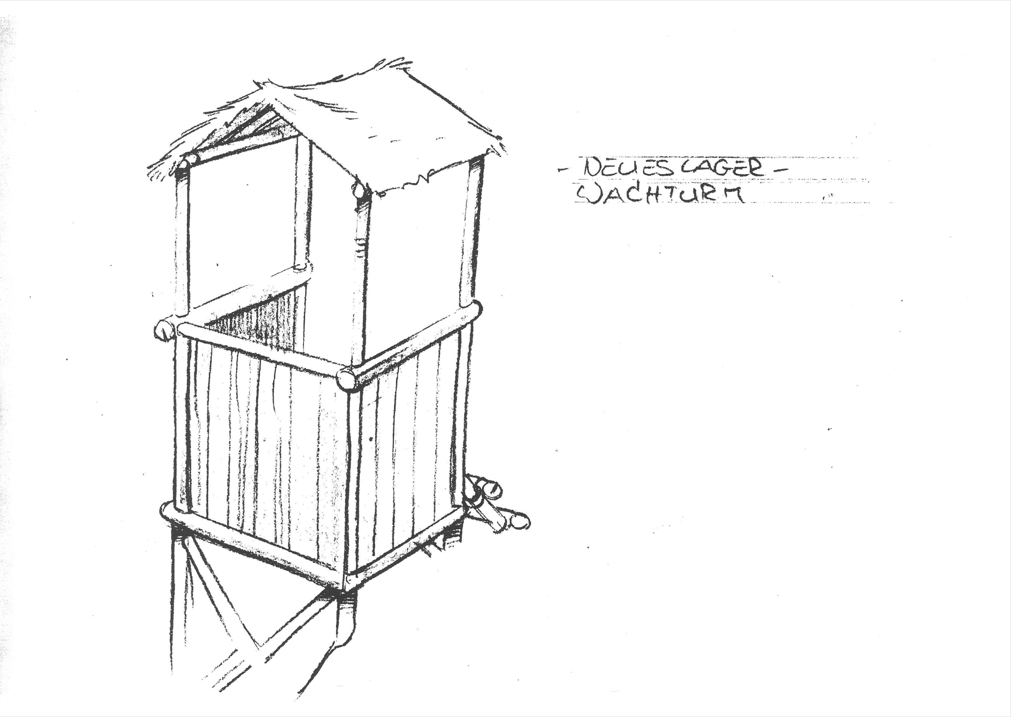 Neues Lager - Wachturm