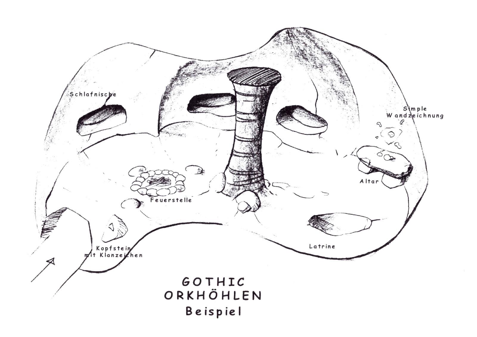 Gothic Orkhöhlen Beispiel