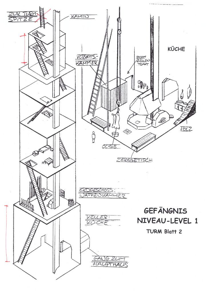Turm 2 mit anderem Innenraum aus Mikes Ordner