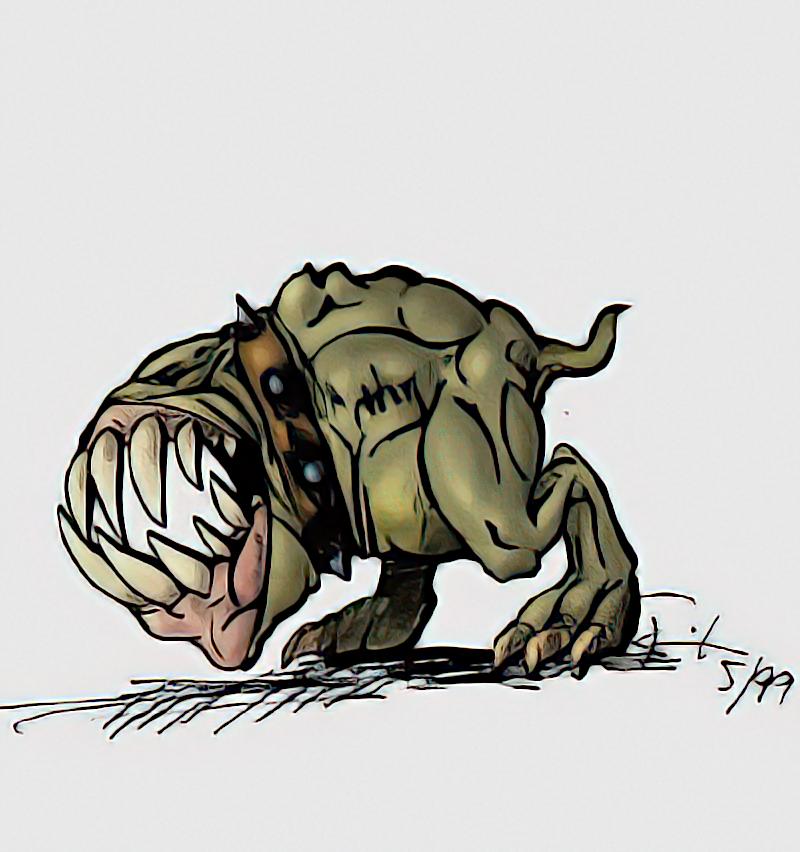 Orc Dog