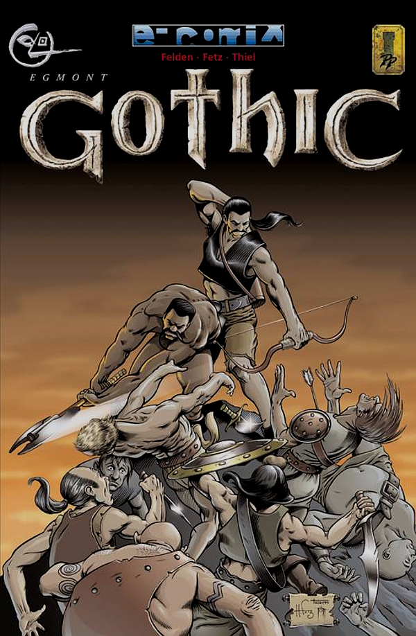 Gothic Comic Stuff