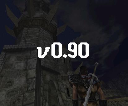 Screenshots from around Version 0.90