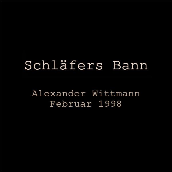 Gothic Story: Sleeper's Ban by Alexander Wittmann