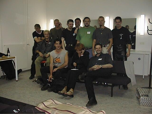 Gruppenbild vom Treffen mit In Extemo für die MoCap Aufnahmen