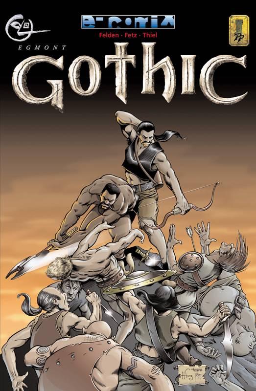 Das Cover des Comics