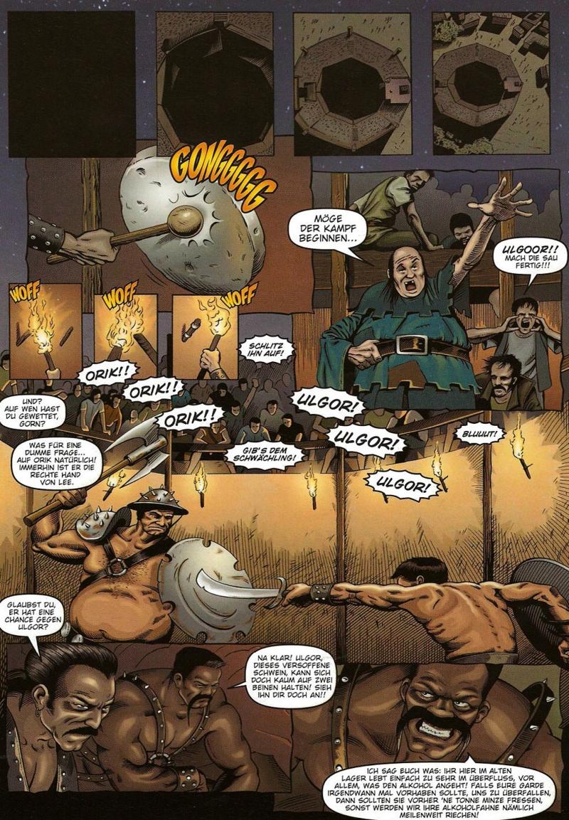 Eine Seite aus dem Comic