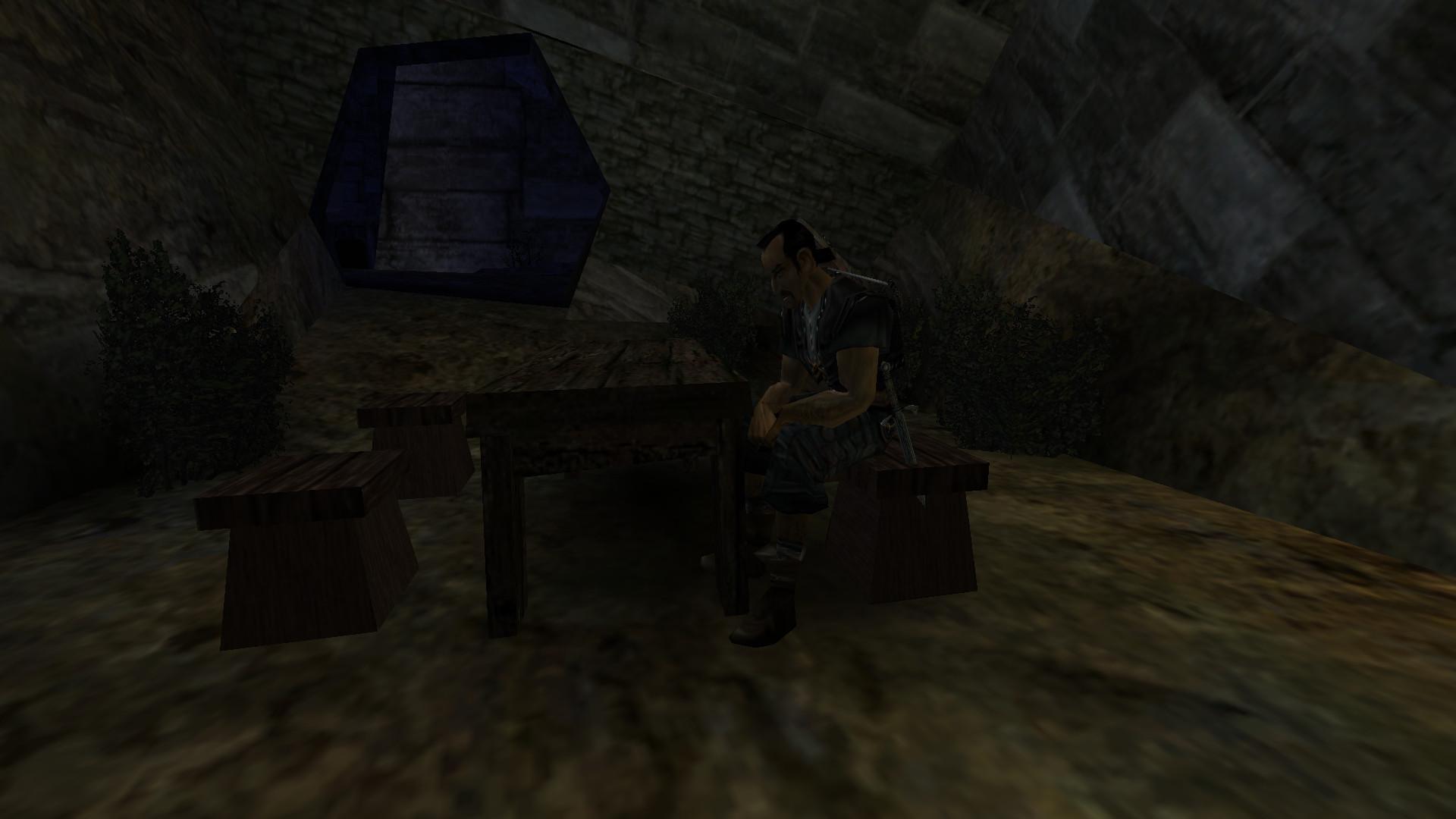 Diego beim geheimen Treffen