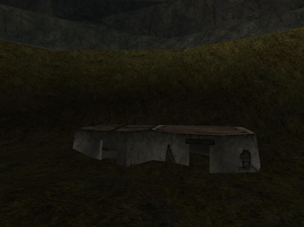 Die versunkenen Hütten