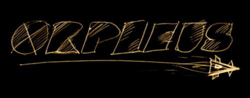 Orpheus Schriftzug von Mike