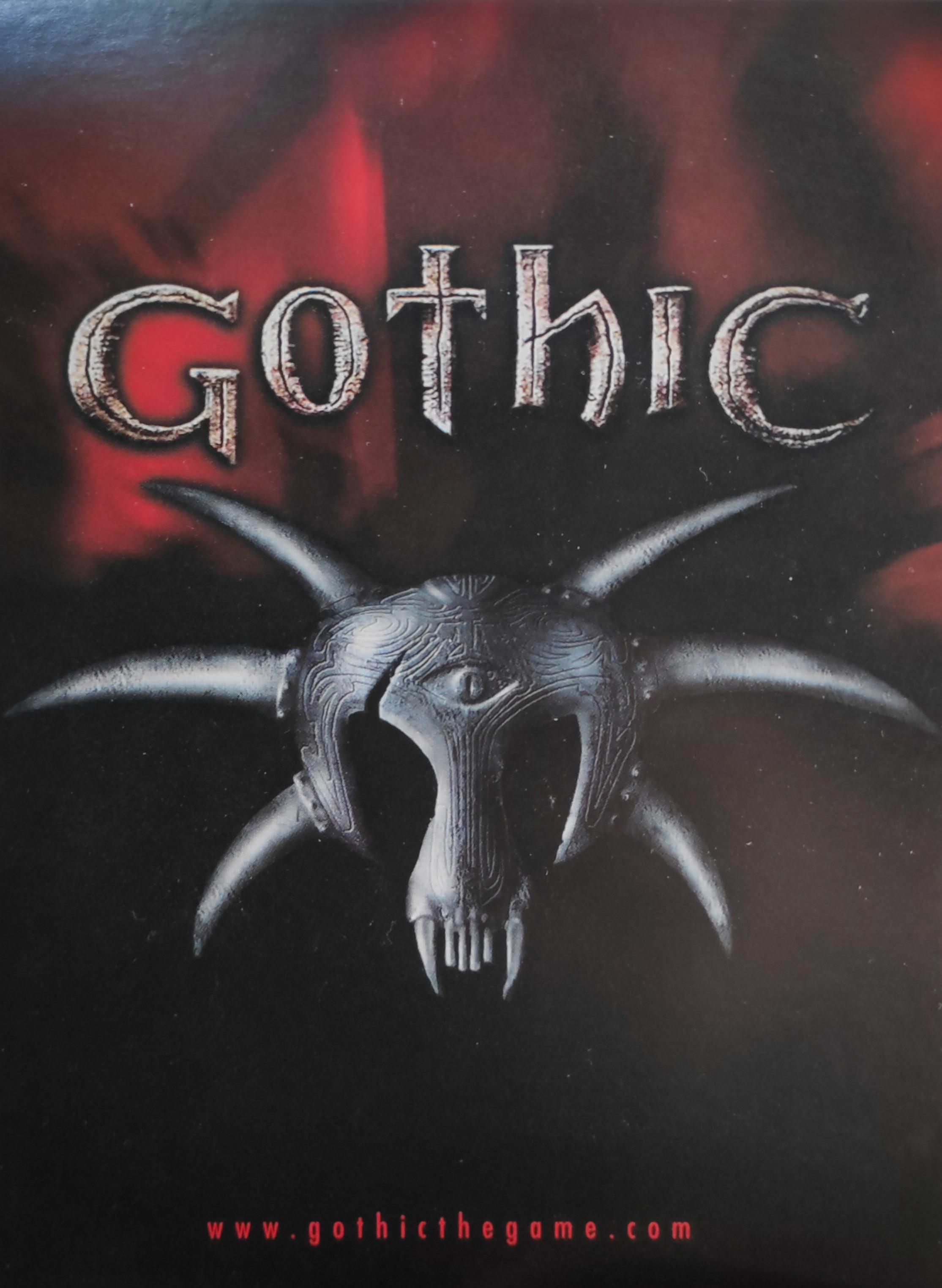 Edgar Karte Photo: 'Become a Gothic Girl' Vorderseite