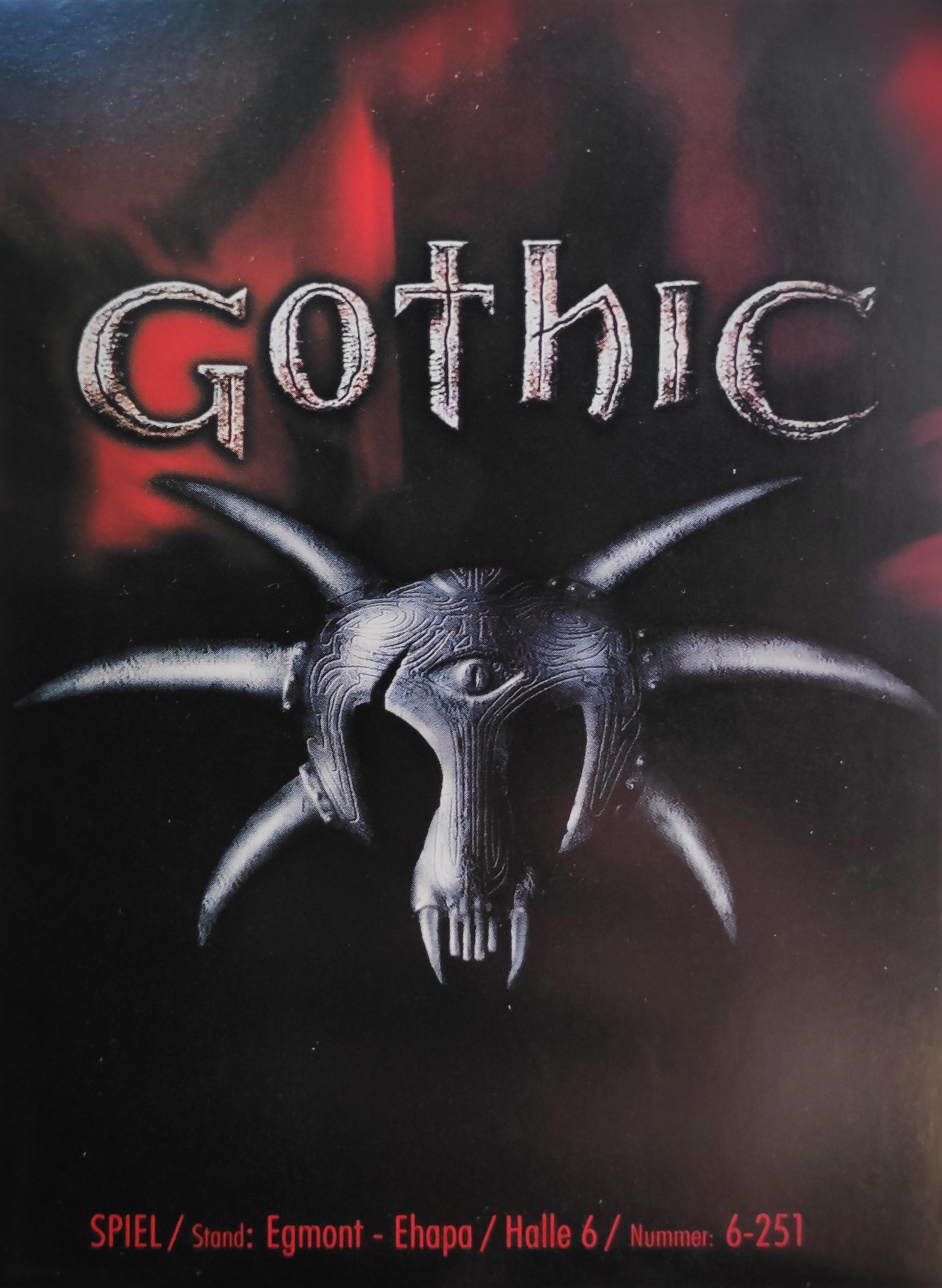 Edgar Karte Photo: 'Become a Gothic Girl No2' Vorderseite