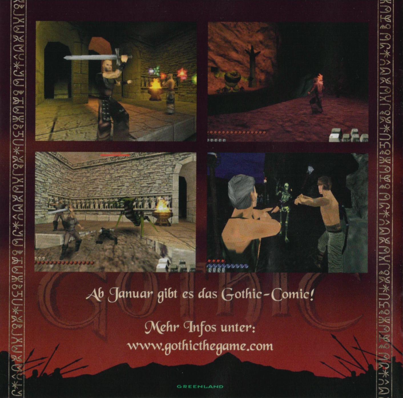 Verehrt und Angespien Gothic Werbung 3