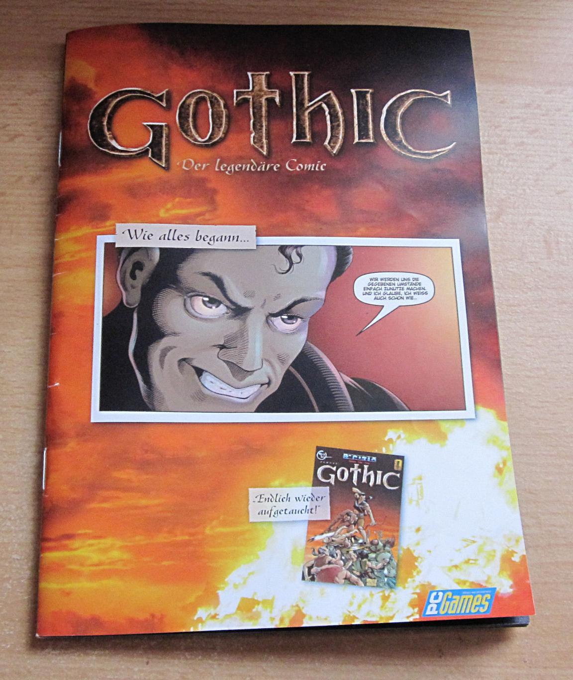 Comic Reprint by PC Games