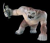 Der goblin-werfende Troll