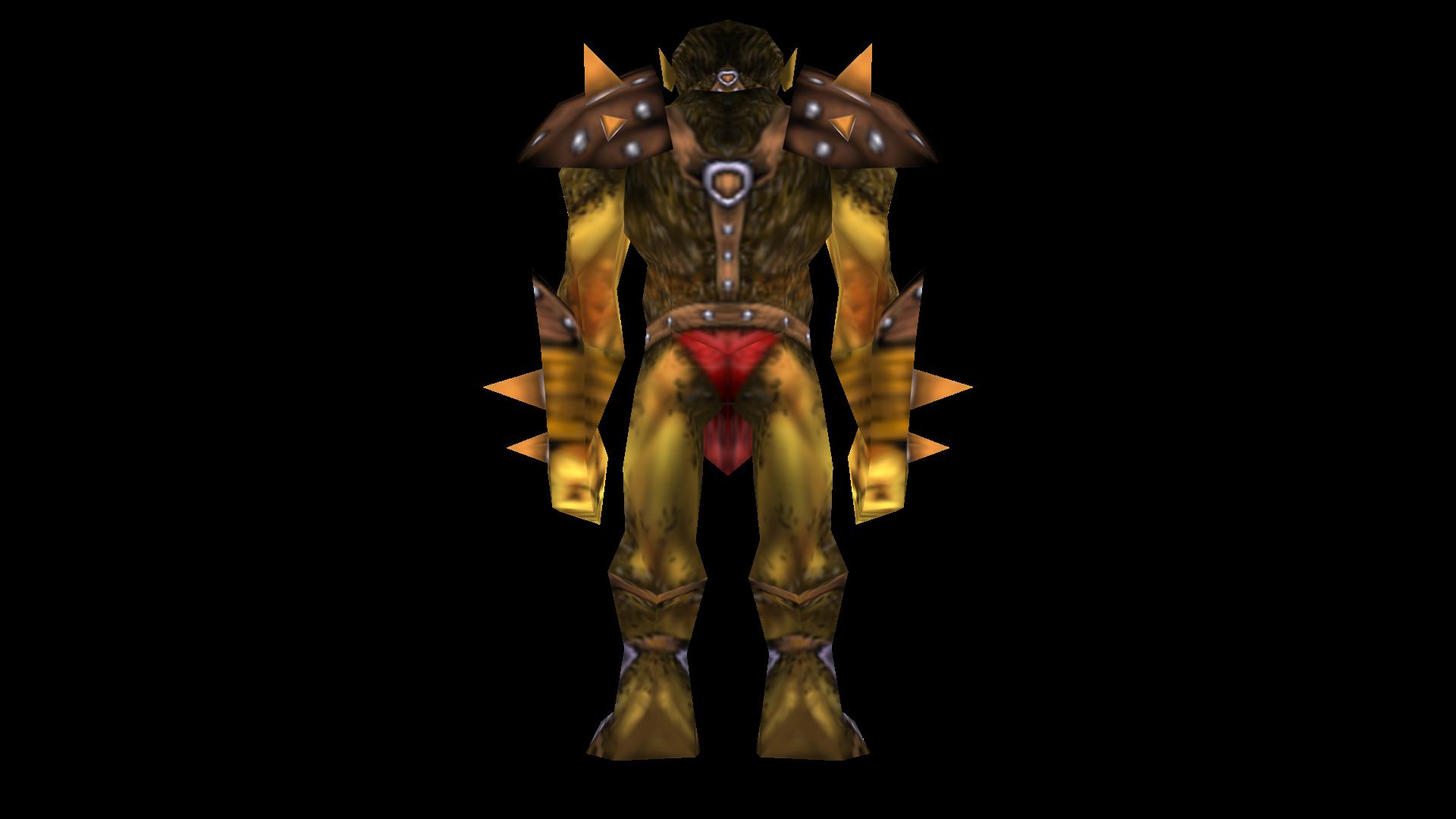 OrcWarrior Back