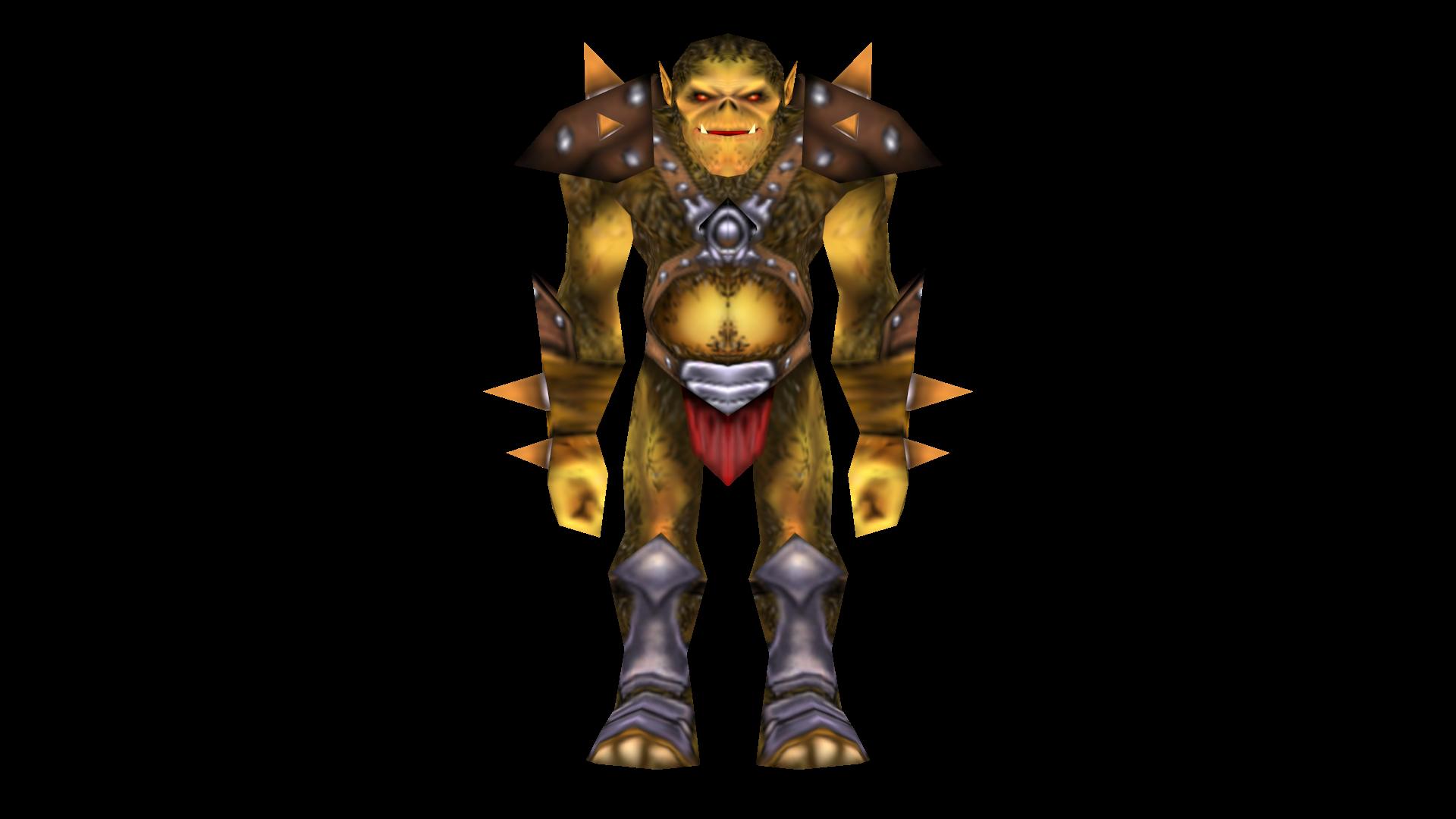 OrcWarrior Front
