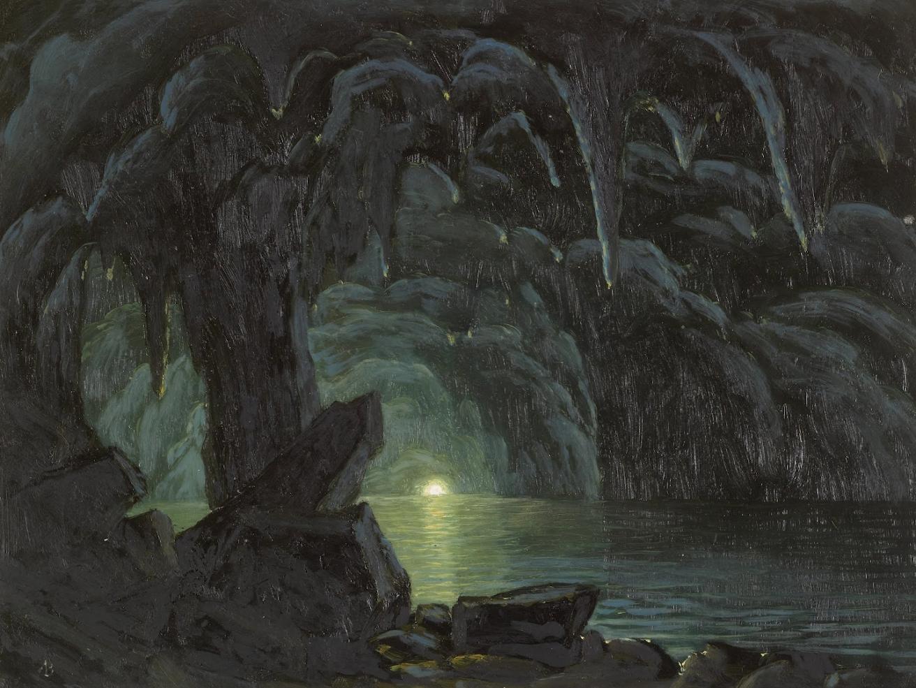 Albert Bierstadt Painting 2