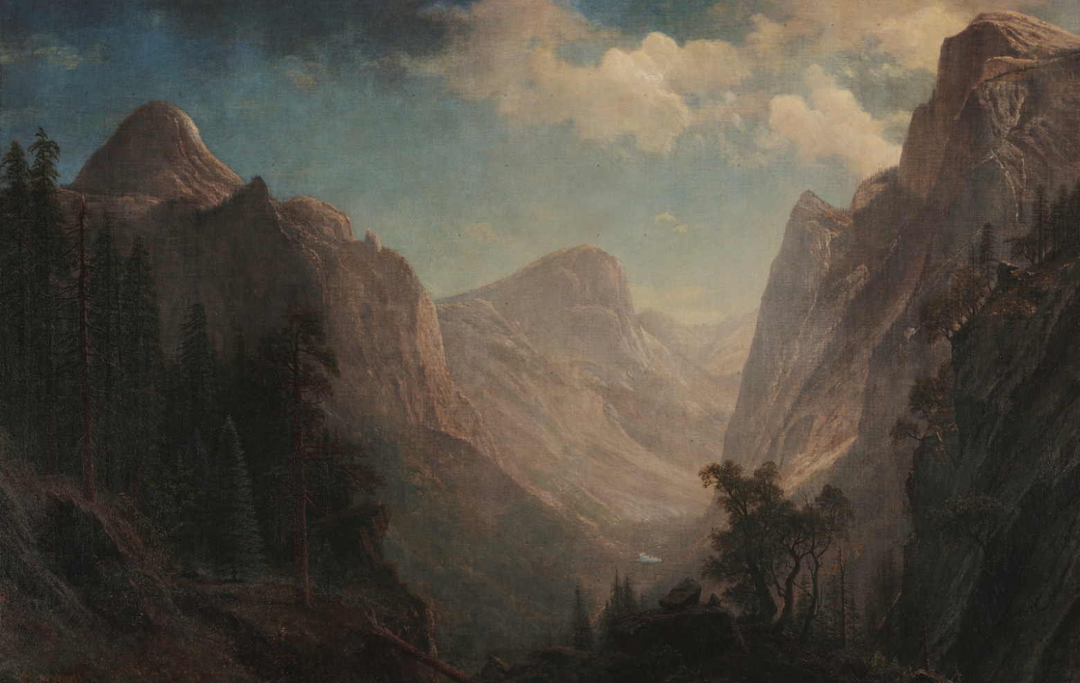 Albert Bierstadt Painting 1