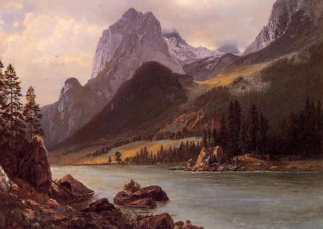 Albert Bierstadt Painting 3