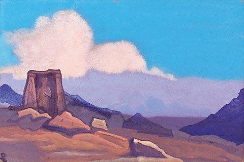 Nicolas Roerich Maitreya Tibet